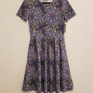NWT lularoe Amelia a line dress